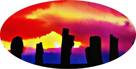 Paintings Sunset – Anilines